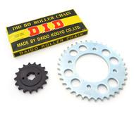 Chain & Sprockets Kit - Honda CB550