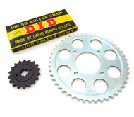 Chain & Sprockets Kit - Honda CB750K - 1970-1976