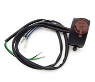 Universal Handlebar Stop / Headlight Switch Assembly - Right Side