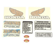 Decal Set - Honda CR250M Elsinore 1973-1975