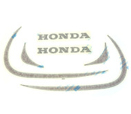 Gas Tank Decals - Honda XL250 - 1972