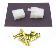 "Locking Connector Kit - 6.3mm - .250"" Series - 4 Pin"