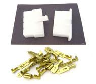 """Locking Connector Kit - 6.3mm - .250"""" Series - 8 Pin"""