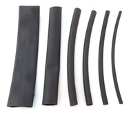 Black Dual Wall Heat Shrink Tube - Adhesive Lined