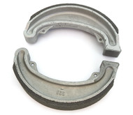 Emgo Front or Rear Brake Shoes - Honda CM185/200 CB/CM/CMX250 CR/MR/MT/XL/XR250 XL350/500
