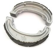 Emgo Front or Rear Grooved Brake Shoes - Honda CM185/200 CB/CM/CMX250 CR/MR/MT/XL/XR250 XL350/500