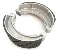 Emgo Grooved Rear Brake Shoes - Honda CB/CM400 CB/CM/CMX450 VT500 CB550SC