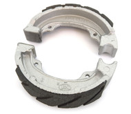 Emgo Grooved Rear Brake Shoes - Honda NA/NB/NC/NU/NX/SA/SE50