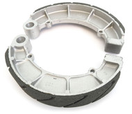 Emgo Grooved Rear Brake Shoes - Honda CB/CL160/450 CB500 CB550
