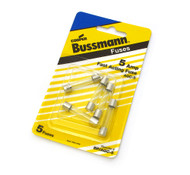 Bussmann AGC Glass Fuses 5 Pack - 5 Amp