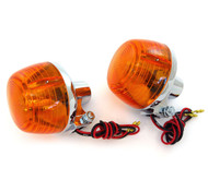 Reproduction Honda Turn Signal - Dual Filament - Set of 2 - CB175/200/350/450/500/750