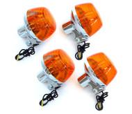 Reproduction Honda Turn Signal - Single Filament - Set of 4 - CB175/200/350/450/500/750