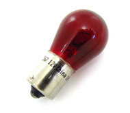 12 Volt Single Filament Red Light Bulb - 1156R