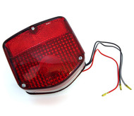 Reproduction Tail Light Assembly - 33701-126-721 - Honda C70 CT70 CT90 CT110 CB125S CM200T CM400T