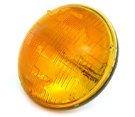 "7"" Sealed Beam Motorcycle Headlight - Amber"