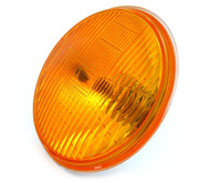 "6.5"" Halogen Motorcycle Headlight - Amber"