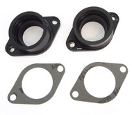 Reproduction Intake Insulator With Gasket - Set of 2 - 16211-286-040 - Honda SL350K CB350K CL350K