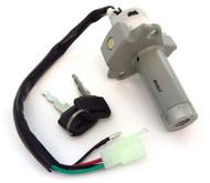 Ignition Switch & Fork Lock Assembly - 35100-KB7-017 - Honda XL200R XL250R - 1982-1984