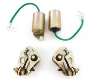 Ignition Tune Up Kit - Points & Condensers - Honda CB500 CB550 CB750