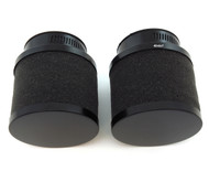 Set of 2 Black Foam Pod Filters - 50mm - Honda CB/CL350/360/450 CB500T