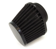 Black Performance Oval Pod Filter - 54mm - Honda CB/CM400/450 CX/GL500/650 CB650/750/900/1000/1100 CBX