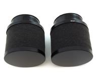 Set of 2 Black Foam Pod Filters - 54mm - Honda CB/CM400/450 CX/GL500/650