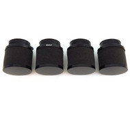 Set of 4 Black Foam Pod Filters - 54mm - Honda CB650/750/900/1000/1100