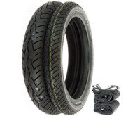 Bridgestone BT-45 Tire Set - Honda CB350/360/400F CL/CJ360