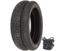 IRC GS-11 Tire Set - Honda SL350K 69-71 CB500T/550 CB750F 75-78 CB750K 69-76