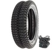 Shinko SR241 Trail Tire Set - Honda CR125R/M XR200R CR/MR/MT/XL250 XL350K