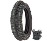 IRC GP-110 Dual Sport Tire Set - Honda CR125R/M XR200R CR/MR/MT/XL250 XL350K