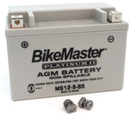 BikeMaster AGM Platinum II Battery - MS12-9-BS