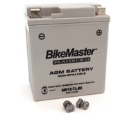 BikeMaster AGM Platinum II Battery - MS12-7L-BS