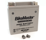 BikeMaster AGM Platinum II Battery - MS12-9-4B1