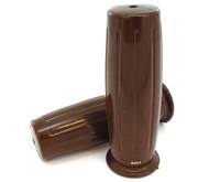Barrel Grips - Cafe Brown