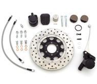 Ultimate Performance Front Brake Kit - Clear Lines - Honda CB450K/500/550