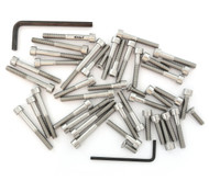 Stainless Steel Allen Bolt Set - Honda CB125S - 1980