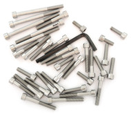 Stainless Steel Allen Bolt Set - Honda CR125R - 1984