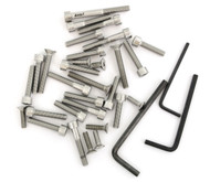 Stainless Steel Allen Bolt Set - Honda SL350K0 - 1969-1970