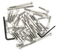 Stainless Steel Allen Bolt Set - Honda XL175K - 1973-1975