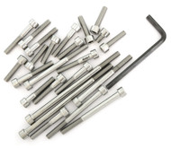 Stainless Steel Allen Bolt Set - Honda CR80R - 1980-1983
