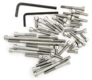 Stainless Steel Allen Bolt Set - Honda C/CA/CB/CL/CSA77 - 1960-1969