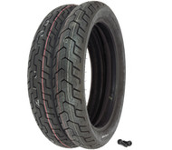 Dunlop D404 Tire Set - Honda VT700C VT750C VT800C Shadow
