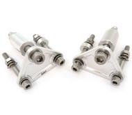 TTR400 Front Motor Mount Set - Silver -Honda CB500K CB550F CB550K