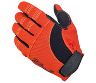 Biltwell Moto Gloves - Orange / Black / Yellow