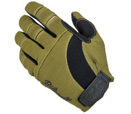 Biltwell Moto Gloves - Olive / Black