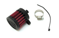 UNI Crankcase Breather Filter - Push In - 3/8""