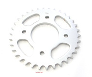 Parts Unlimited Rear Sprocket - 34T - Honda CB350 CB360 CB400F