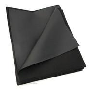 "Texhide Vinyl Motorcycle Seat Cover Material - Matte Black - 24"" x 36"""