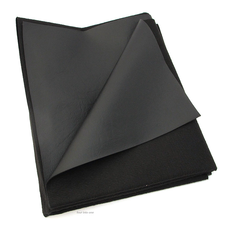Texhide Vinyl Motorcycle Seat Cover Material Matte Black  X - Vinyl for motorcycle seat